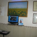 Sala d'attesa - Potrete usare il pc per navigare in rete!