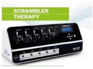 Il macchinario Scrambler therapy